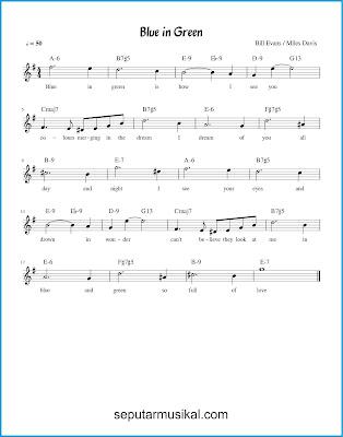 Blue In Green chords jazz standar