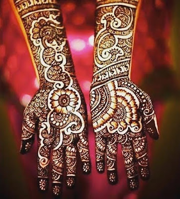 Mehendi Designs,The Paisley Mehendi Design