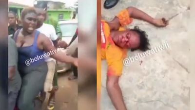 [Graphic Video] Wife Arrested After Beating Husband's Crush To Coma