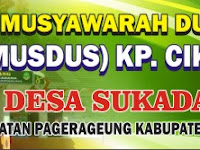 Download Kumpulan Contoh Spanduk Musyawarah Dusun Format CDR