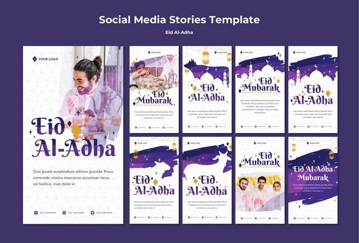 Instagram Storie Collection Eid Mubarak