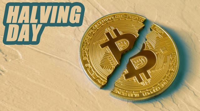 bitcoin a la mitad hoy