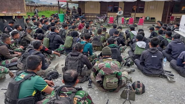 TNI-Polri Solid Jaga Tanah Papua dari KKB lewat Satgas Nemangkawi