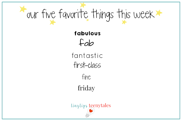 friday favorites for reading and writing workshop