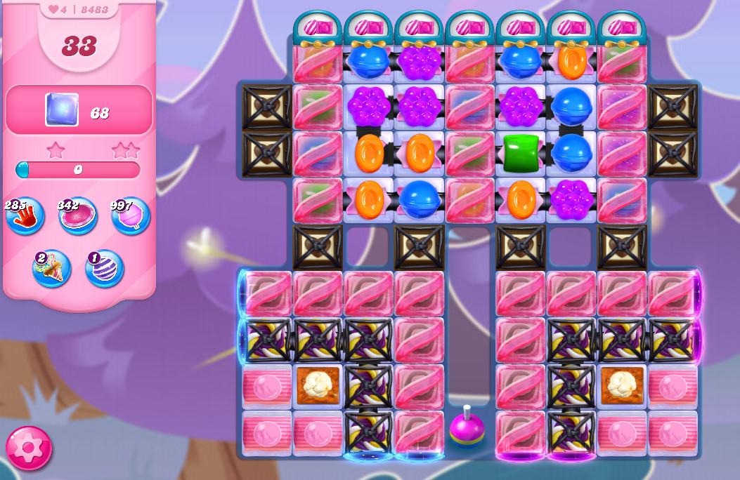 Candy Crush Saga level 8483