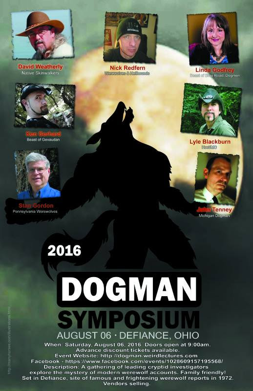2016 Dogman Conference  |   DFRO (Dogman Field Research Organization)