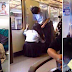 SHOCKING: A Video Of People Doing Intimate Things Inside The Train In Japan!