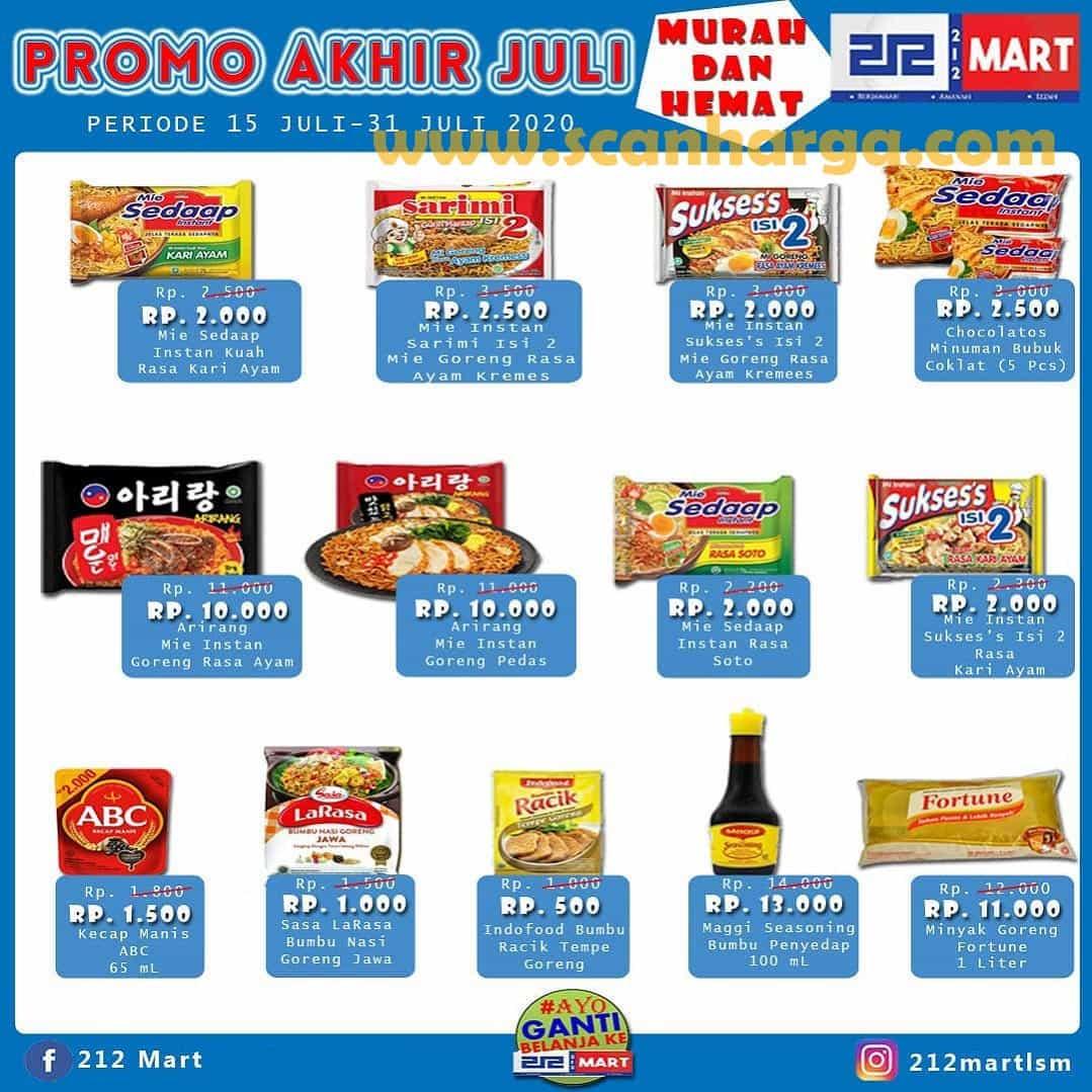 Katalog Promo 212 Mart Minimarket 15 - 31 Juli 2020 2