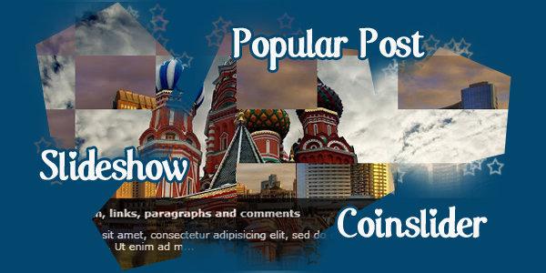 Merubah Widget Popular Post Menjadi Slideshow Coinslider