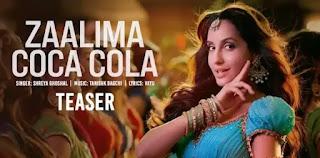 ZAALIMA COCA COLA Lyrics - Bhuj   Shreya Ghoshal