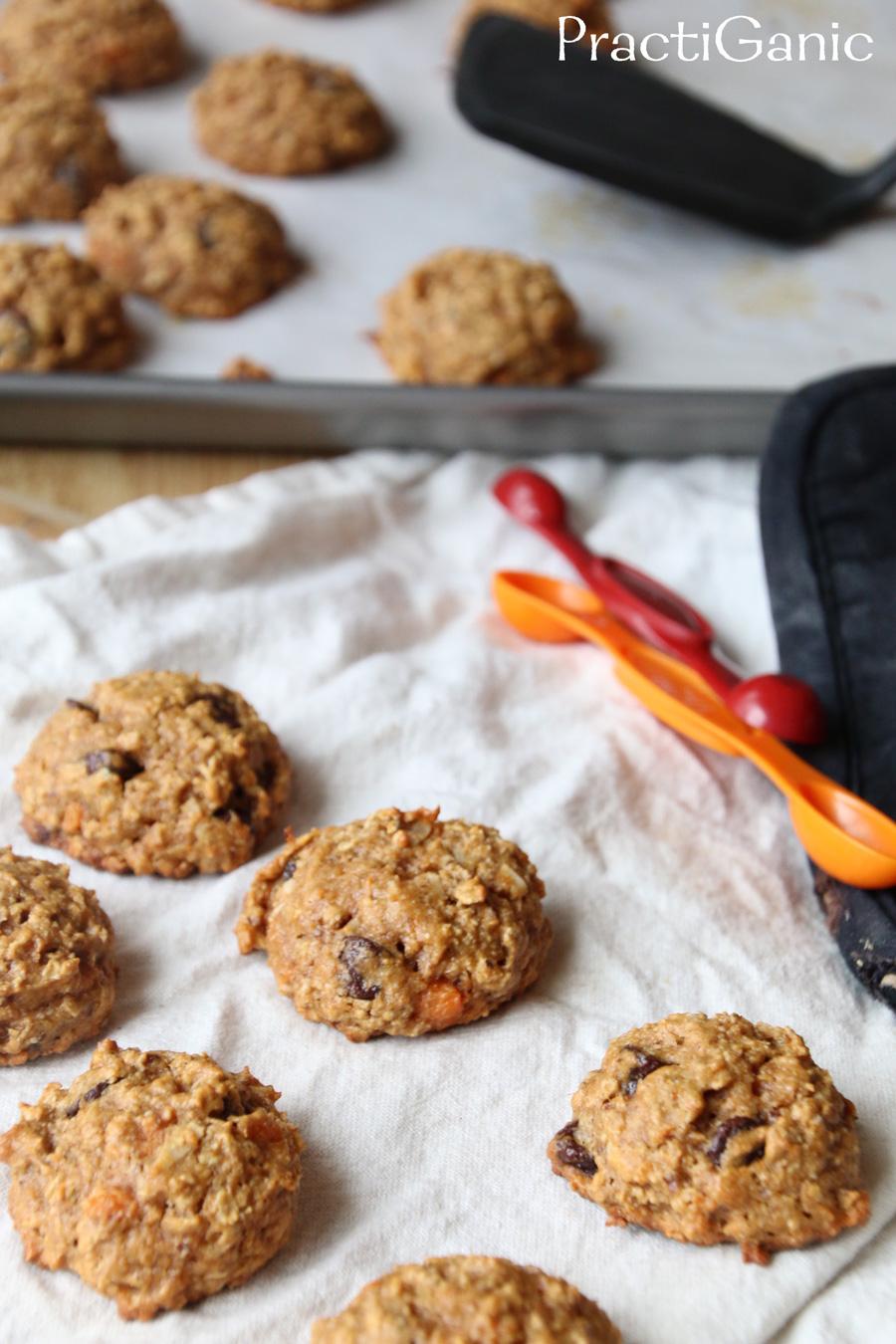 Gluten Free Sweet Potato Power Cookies | PractiGanic: Vegetarian ...