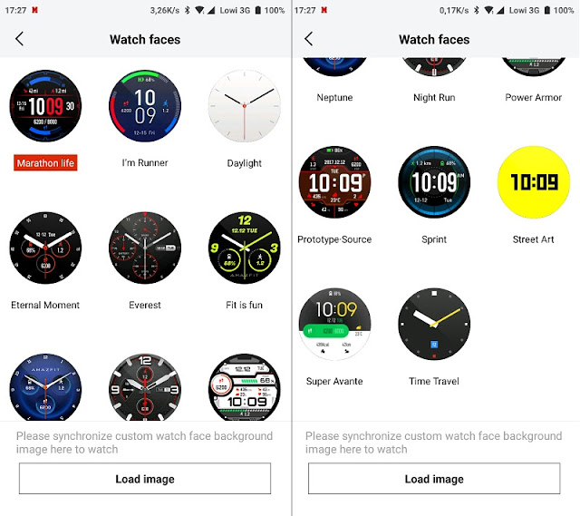 Amazfit Stratos Watchfaces