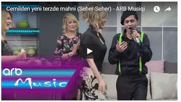 Canción armenia hace un escándalo en la TV de Azerbaiyán