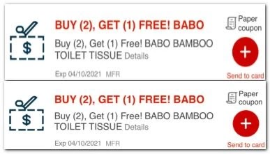 babo toilet paper crt app coupons