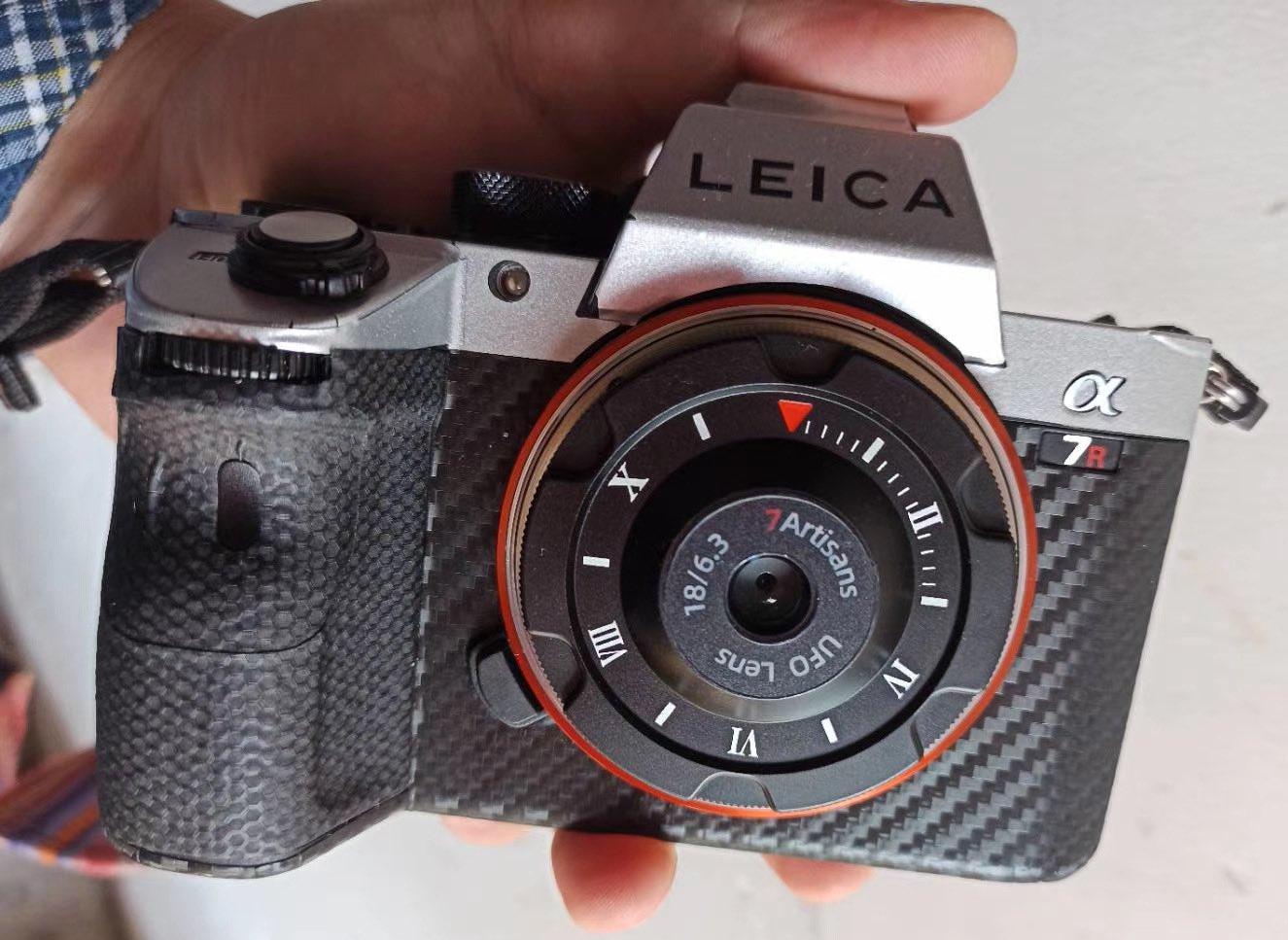 Объектив 7Artisans 18mm f/6.3 с камерой Sony