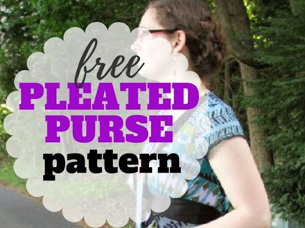 How to Sew a Purse + Free Pattern