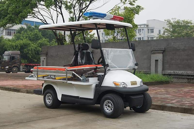 Mobil Golf Car Ambulance