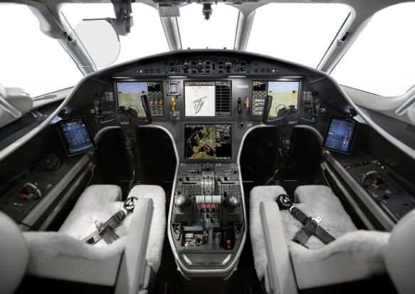 Dassault Falcon 900LX cockpit