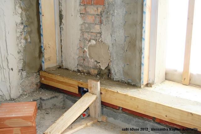 cornice isolante su controtelaio insulating on frame