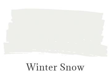 Benjamin Moore Winter Snow color swatch