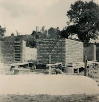 Rohbau Gerätehaus Bischleben 1960