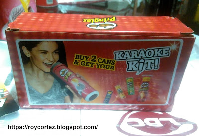pringles karaoke kit packaging