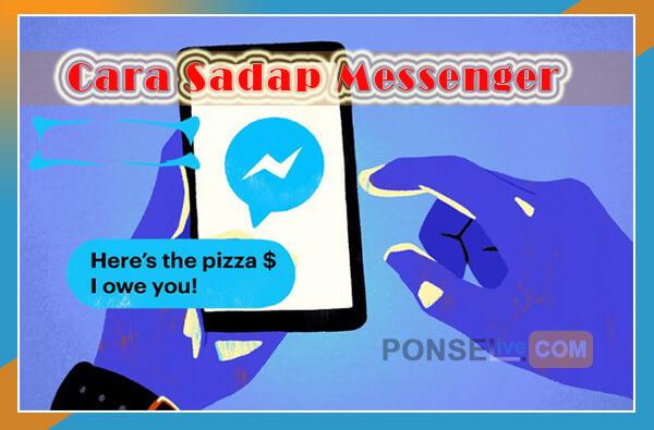 cara sadap messenger