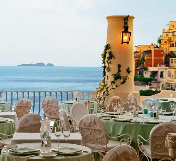 La Sponda restaurant at Positano