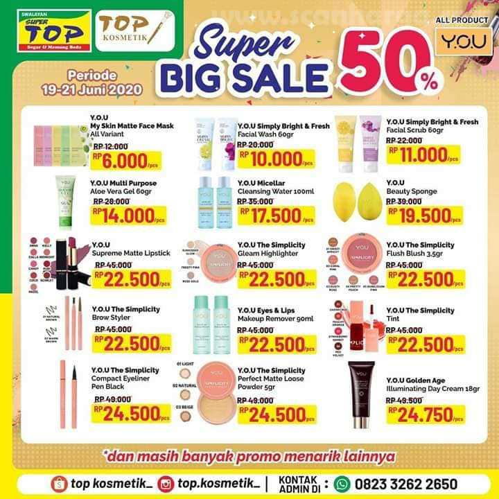 Katalog Promo Super TOP Swalayan Terbaru 19 - 21 Juni 2020