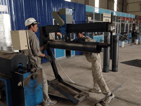 Quá trình sản xuất ống gió TPP - Hình 6