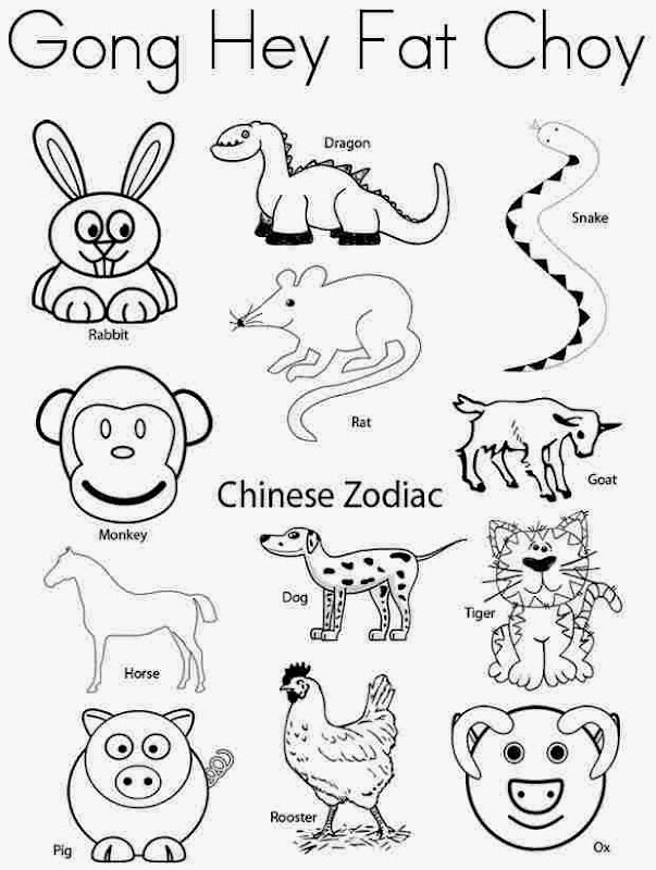 Chinese New Year Coloring Pages Printable ~ Top Coloring Pages