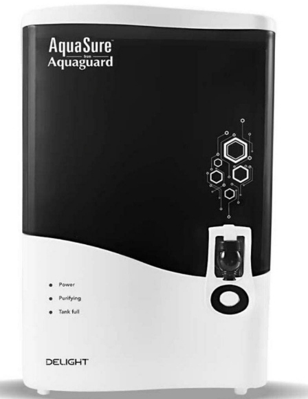 Eureka Forbes AquaSure from Aquaguard Delight (RO+UV+MTDS) 7L water purifier - Specifications, features & details