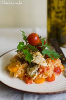 Ryż z patelni z warzywami