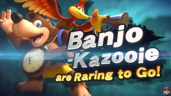 banjo kazooie smash
