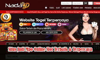 Situs Judi Mpo Online Slot Terbaik & Terpercaya