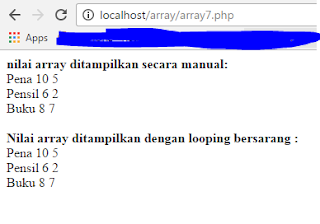 array, php, multidimensi