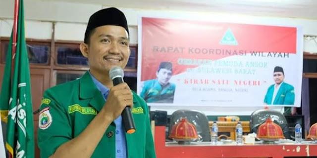 Lakukan Klarifikasi, GP Ansor Tegaskan Bupati Majene Bukan Anggota HTI