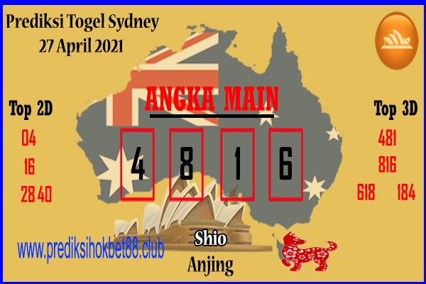 Syair Sydney 27 April 2021