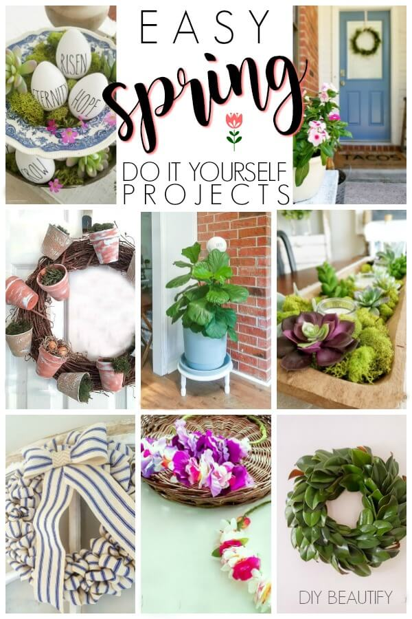 Spring DIY projects at DIY beautify