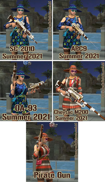 Preview Senjata No Rules Seri Summer 2021 Point Blank Zepetto Indonesia