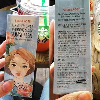 Mua kem chống nắng Seoul Rose Rosie giá bao nhiêu