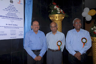 Dr.Harsh Vardhan Inaugurated the Doppler Weather Radars