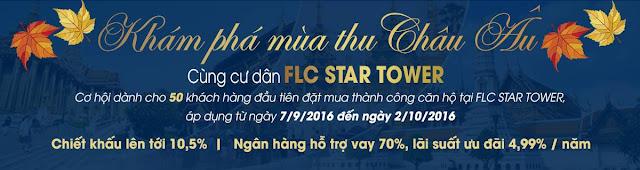 Chính sách ưu đãi mua nhà FLC Star Tower