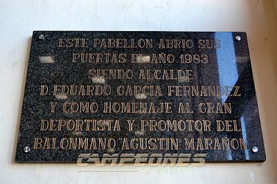 Polideportivo Agustín Marañón