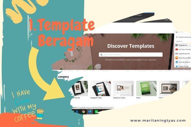 cara membuat infografis blog pilihan template canva beragam