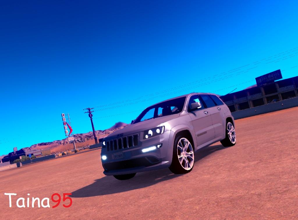 jeep grand cherokee srt8 for ats euro truck simulator 2. Black Bedroom Furniture Sets. Home Design Ideas
