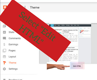 Add Contact Form Widget And Contact Us Page To Blogger