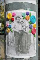 Street art, Frida Kahlo, Santiago, Chile, Chili