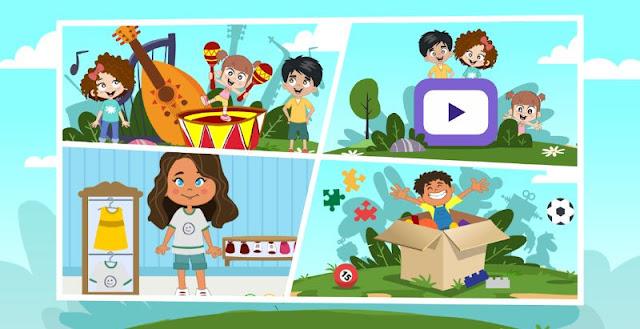 لعبة الأطفال كريم وجنى: عالمنا