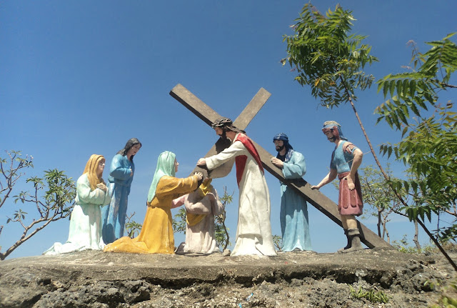 Stations of the Cross at Mt. Calvary Carmen Cebu